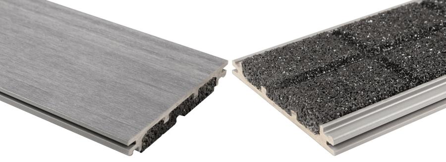 Spodná gumová strana ters S-Board