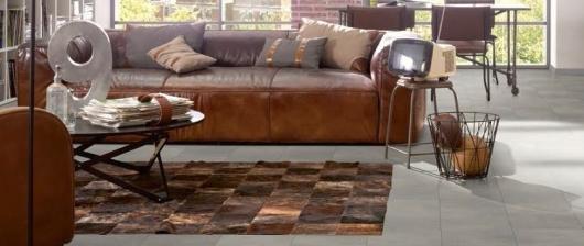 Laminátové podlahy se vzorem dlažby