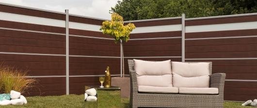 Dřevoplastové ploty Silvadec Atmosphere