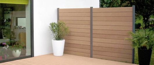 Drevoplastové ploty Silvadec Elegancia