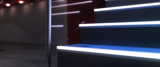 Schodové hrany pro LED pásky