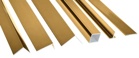 Kutilské profily - odstín Zlatá