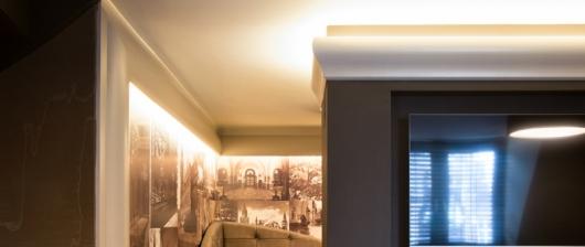 Stropné lišty pre LED osvetlenie