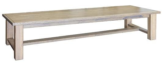 Nízké dubové stolky