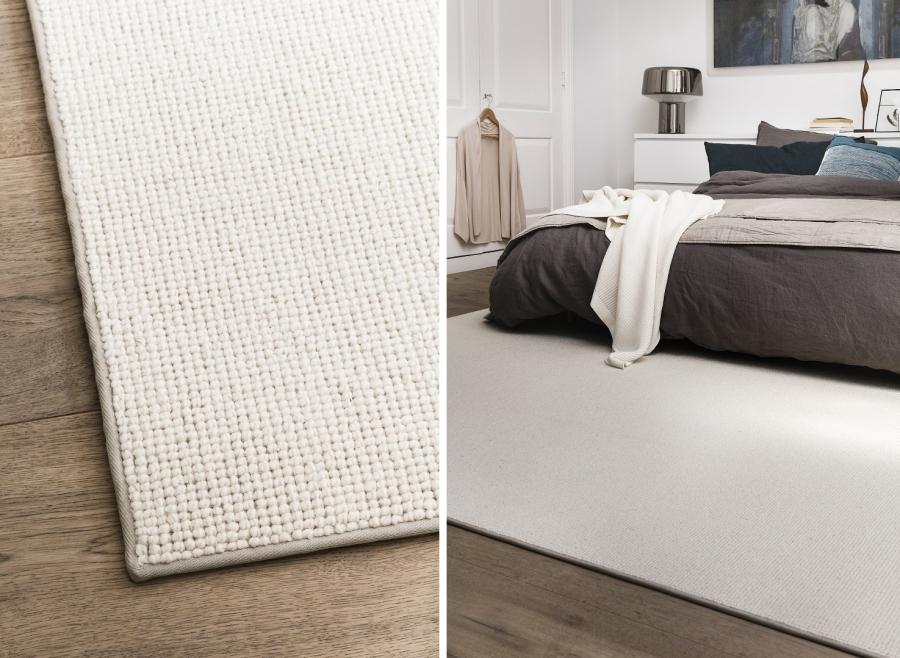Textilní bordura koberce 1 cm