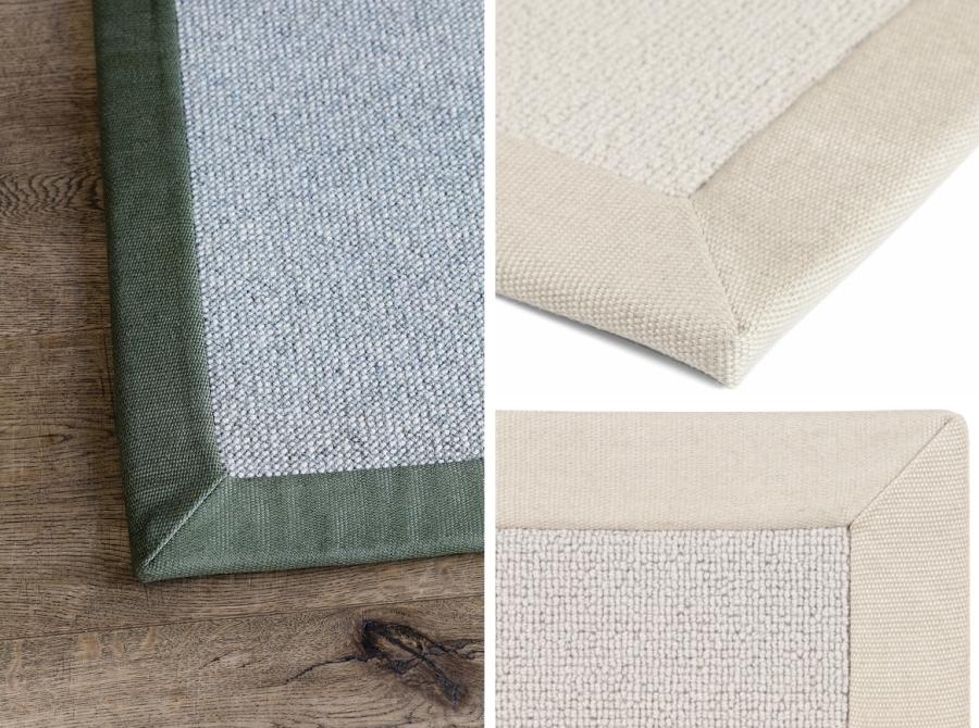 Textilní bordura koberce 5 cm