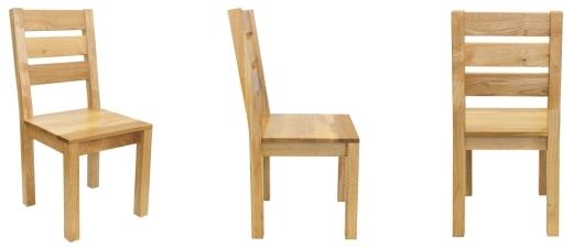 Drevené masívne stoličky