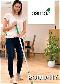 OSMO - čištění a ochrana dřevěných podlah - katalog 2018