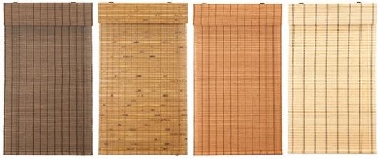 Bambusové rolety na míru
