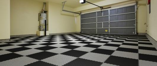 PVC podlaha do garáže Fortelock