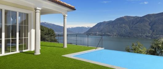 Umělé trávníky pro balkóny a zahrady