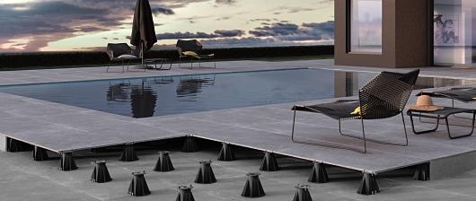 Rektifikační terče pro dlažbu a terasy
