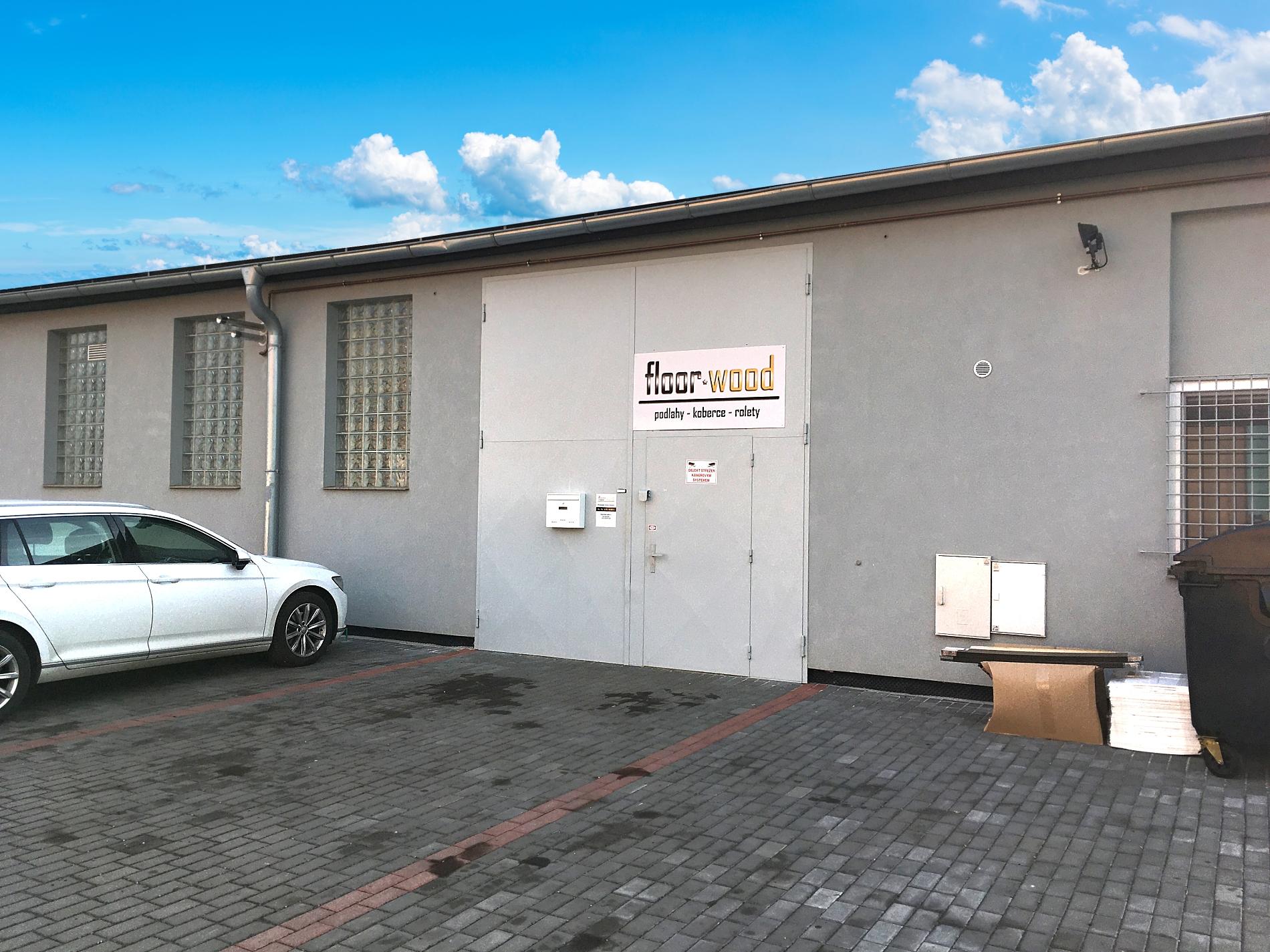 floorwood.cz a.s., Dražkovice 212, Pardubice, sklad a výdejní místo