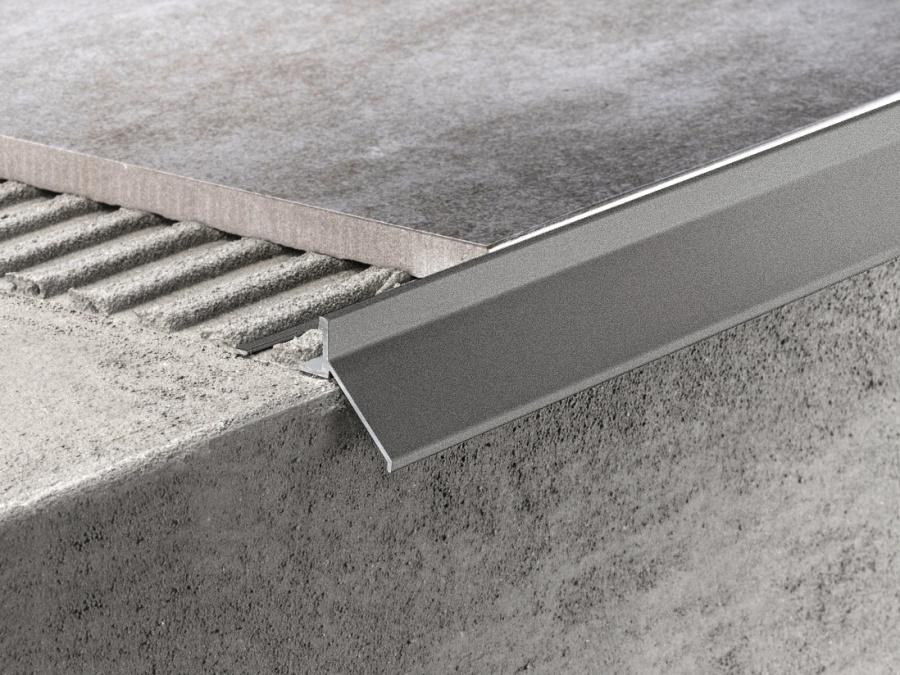 Balkónový profil Protec CPHV Antracite grey