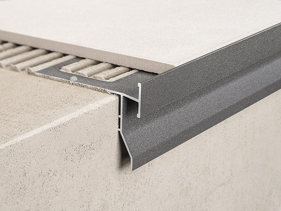 Balkónový profil Protec CPGV Anthracite grey