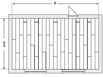 Směr pokládky podlahy a půdorys místnosti