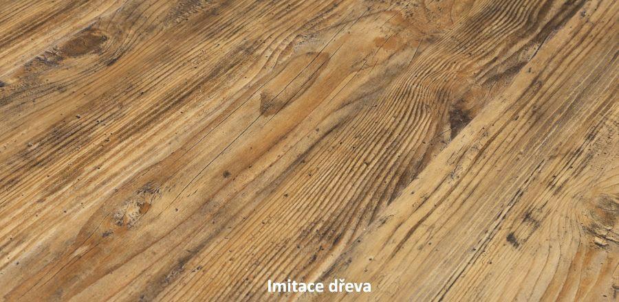 Vinylová podlaha imitující dřevo