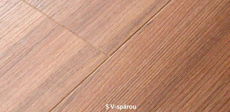 Vinylová podlaha s V-spárou