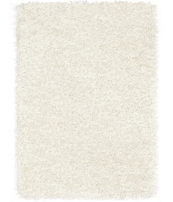 Kusový koberec Shaggy Plus 963 White