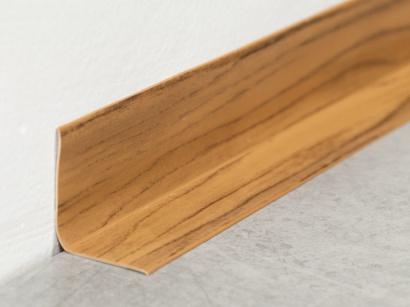 Soklová lišta PVC Arbiton Rapid Dub tmavý 15m
