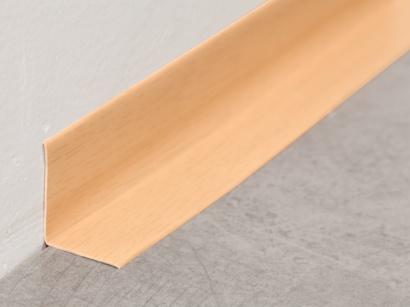 Soklová lišta PVC Arbiton Rapid Buk