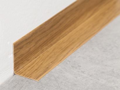 Soklová lišta PVC Arbiton Rapid Tmavé dřevo 15m