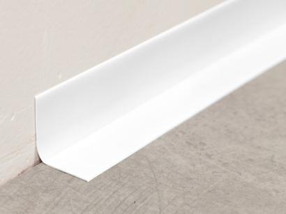 Soklová lišta PVC Arbiton Rapid Bílá 15m