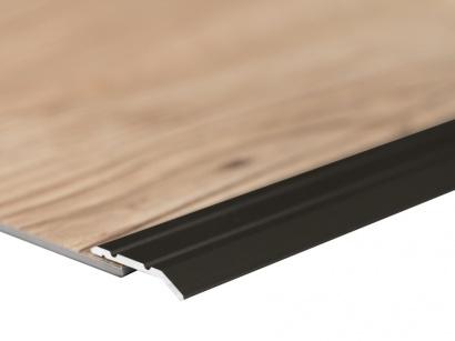 Ukončovací lišta samolepící pro vinyl a pvc Bronz E03 do 3 mm