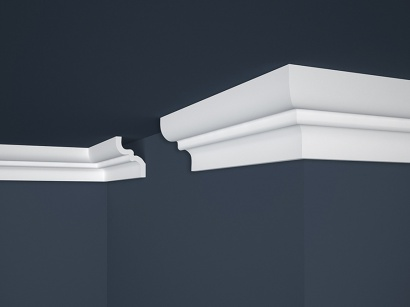 Stropní polystyrenová lišta Marbet Lux E-9