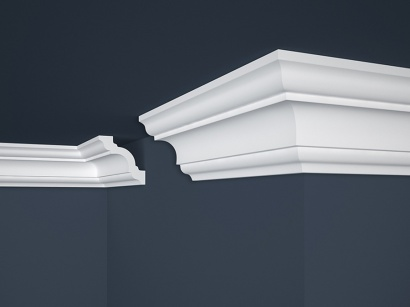Stropní polystyrenová lišta Marbet Lux E-16