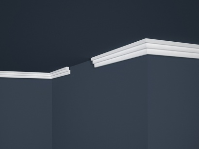 Stropní polystyrenová lišta Marbet Lux E-17