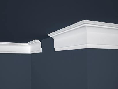 Stropní polystyrenová lišta Marbet Lux E-33