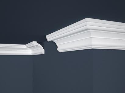 Stropní polystyrenová lišta Marbet Lux E-34