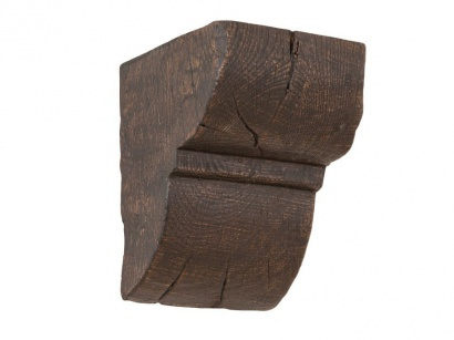 Konzole Dub tmavý 9 x 6 cm