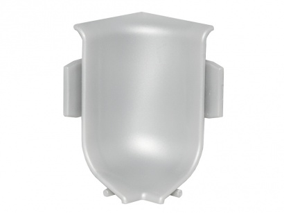 Vnitřní roh pro lištu Q63 Stříbrný