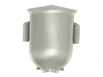 Vnitřní roh pro lištu Q63 Inox
