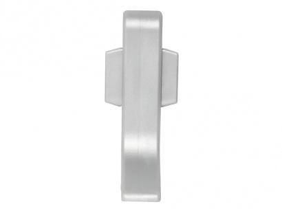Spojka pro lištu Q63 Stříbrná