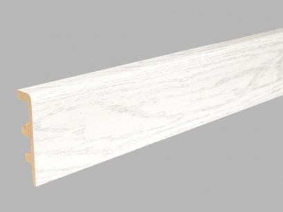Podlahová lišta Arbiton Integra 80 Jasan Snow-white 03