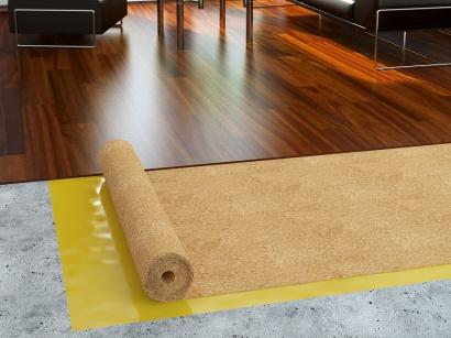 Korková role podložka pod podlahy 2 mm