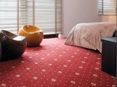 Hotelový koberec Bach 10 šíře 4m