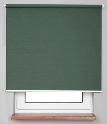 Pružinová zatemňující roleta Zelená 7939 Blackout NJ 32 Smartroll