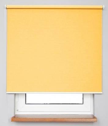 Pružinová zatemňující roleta Žlutá 7927 Blackout NJ 32 Smartroll