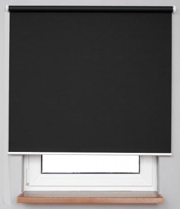 Pružinová zatemňující roleta Černá 7917 Blackout NJ 32 Smartroll