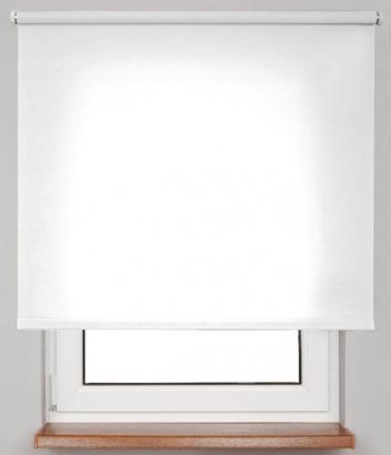 Pružinová transparentní roleta Bílá 4905 Carina 24 Smartroll