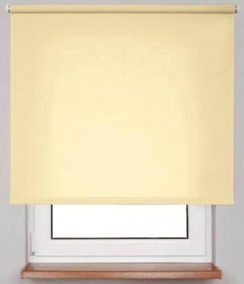 Pružinová transparentní roleta Žlutá 4932 Carina 24 Smartroll