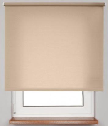 Pružinová transparentní roleta Hnědá 4999 Carina 24 Smartroll