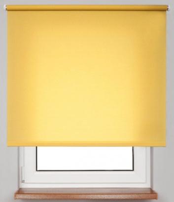 Pružinová transparentní roleta Žlutá 5723 Carina 24 Smartroll