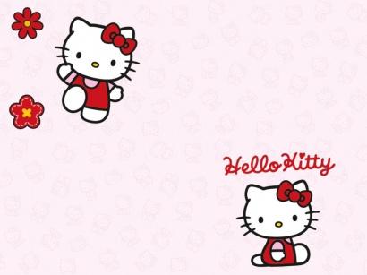 Korková podlaha Printcork Hello Kitty