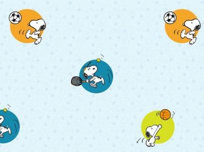 Korková podlaha Printcork Snoopy Sports