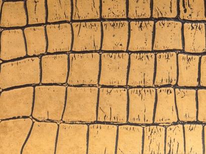 Kožená plovoucí podlaha Ledo Aligator Gold